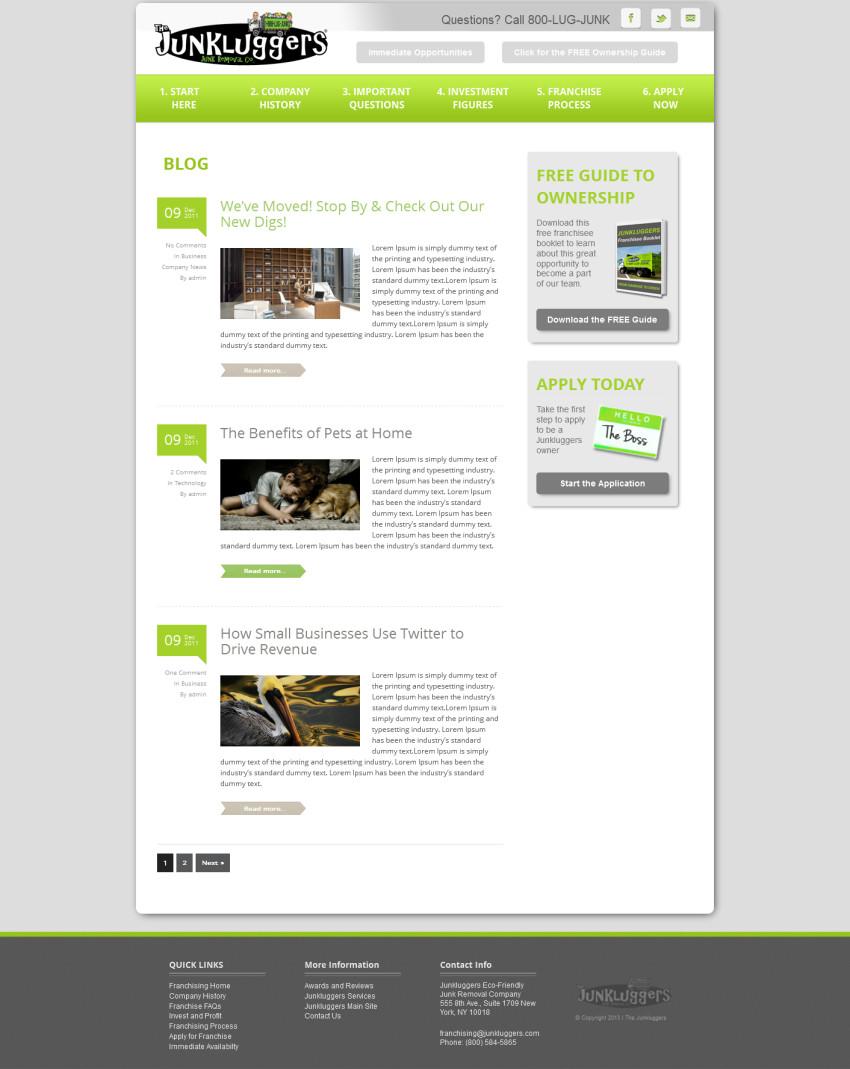 Junkluggers-Blog-Redesign